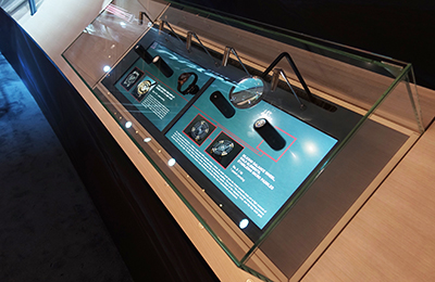 Ulysse Nardin and its interactive display featuring innovations