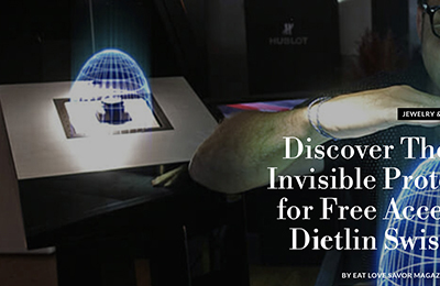 Eat Love Savor Magazine: Discover The Shield, The invisible protection system for free access display by Dietlin Swiss Sh