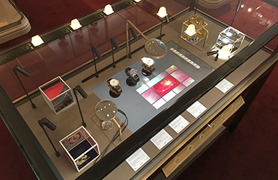 An interactive display case for Hermès in the most luxurious boutique in the world, Faubourg Saint Honoré in Paris.
