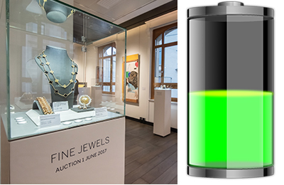 Sotheby's fine jewels auction in Geneva.