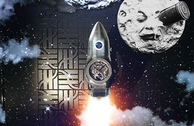 Hublot and the trip to the Moon by George Méliès