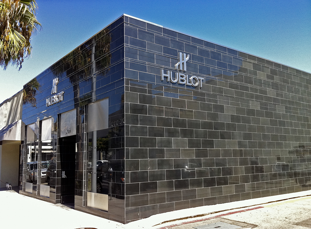 The first Hublot boutique in Los Angeles, Beverly Hills opened in 2011 in partnership with Westime.