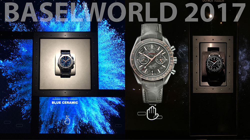 Baselworld 2017 Highlights: An overview of the showcases from Dietlin during the fair.