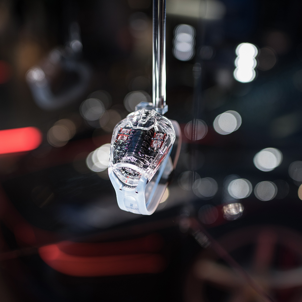 Hublot LaFerrari : A floating watch at Baselworld 2017