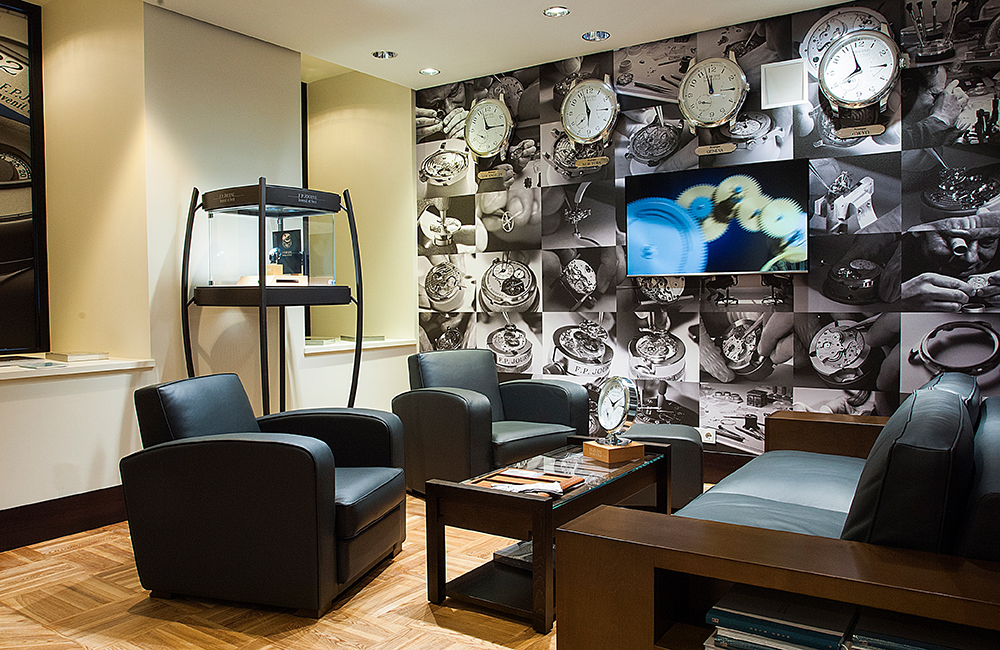FP Journe opens a new boutique in Kiev, Ukraine.