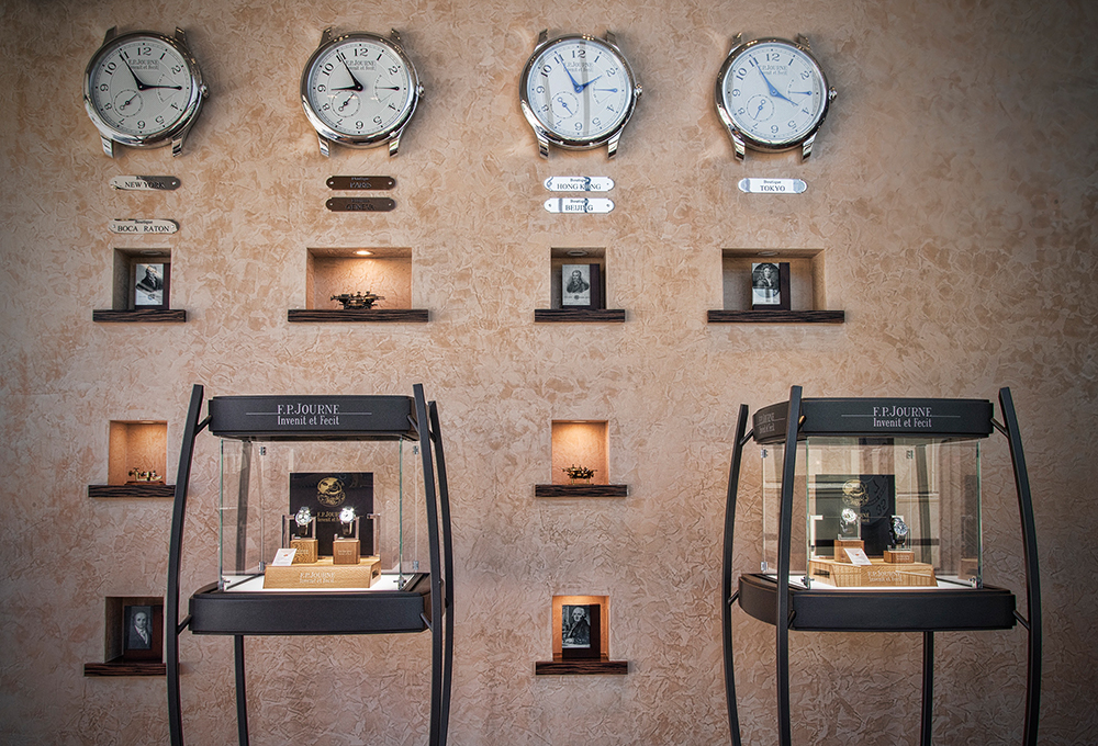 FP Journe opens a new boutique in Los Angeles.