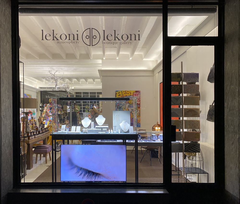 Welcome at the Lekoni Gallery, one of the coolest boutique in Geneva.