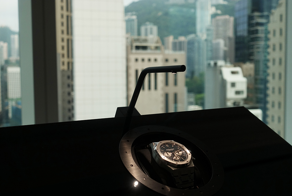 Audemars Piguet: AP House in Hong Kong, it's no longer a boutique but a lounge.