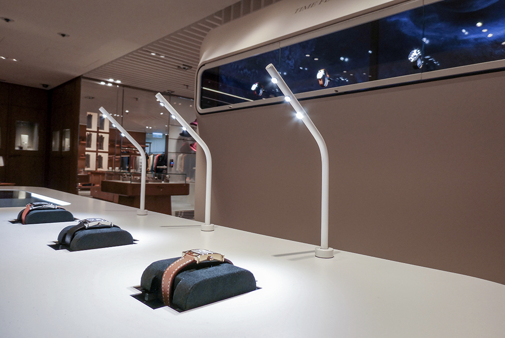 Hermès whisks you off to the moon with its pop-up store in Hong Kong.