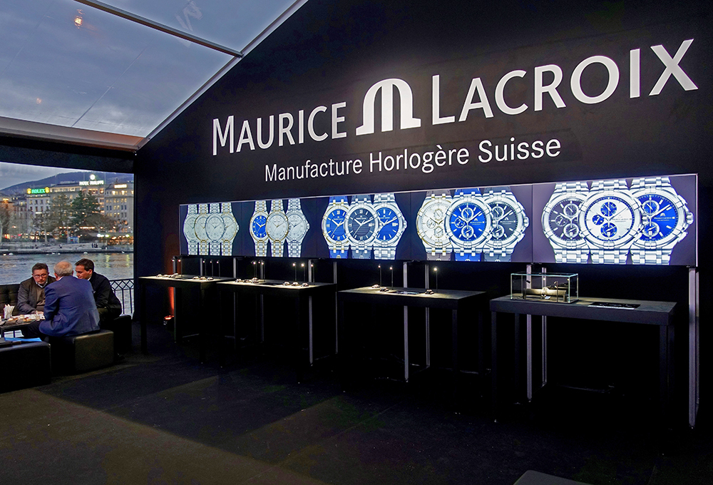 Maurice Lacroix and its entire presentation with free access at Geneva Days.