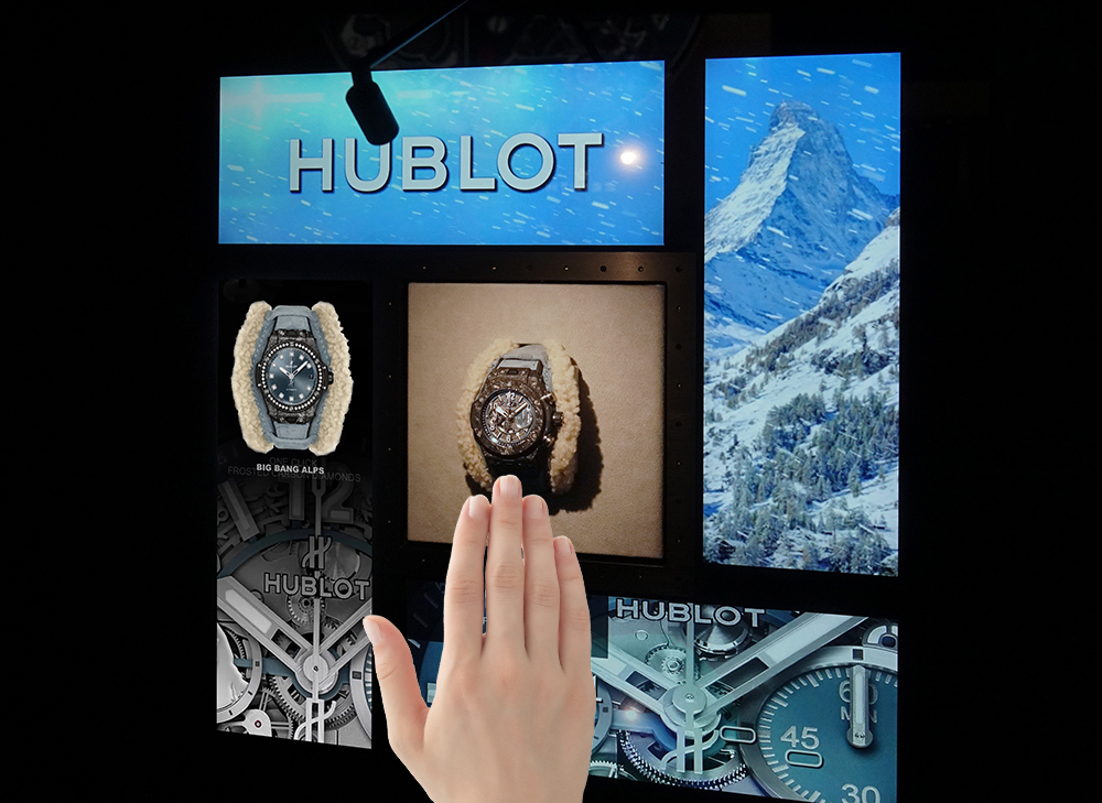 Hublot in Zermatt: It's snowing on the Matterhorn!
