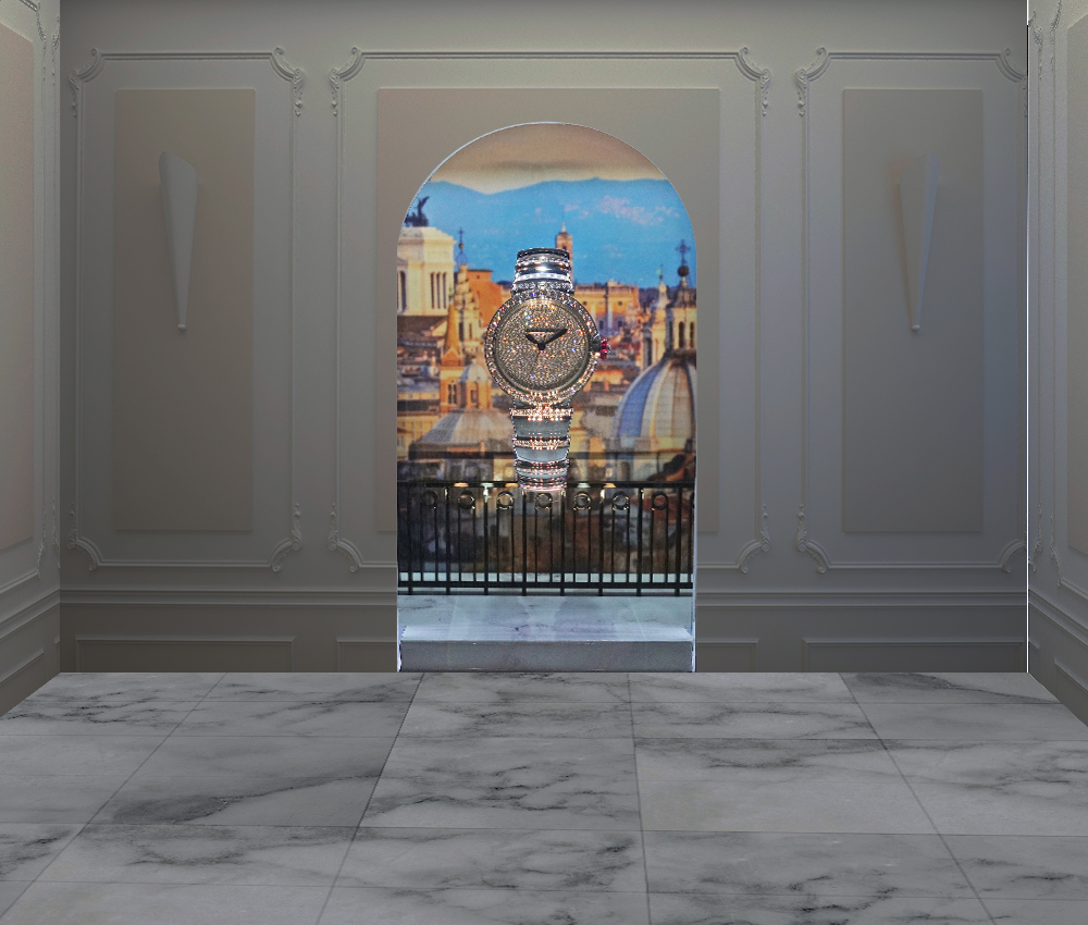 Bulgari Lucea: view over Rome at Baselworld 2017.