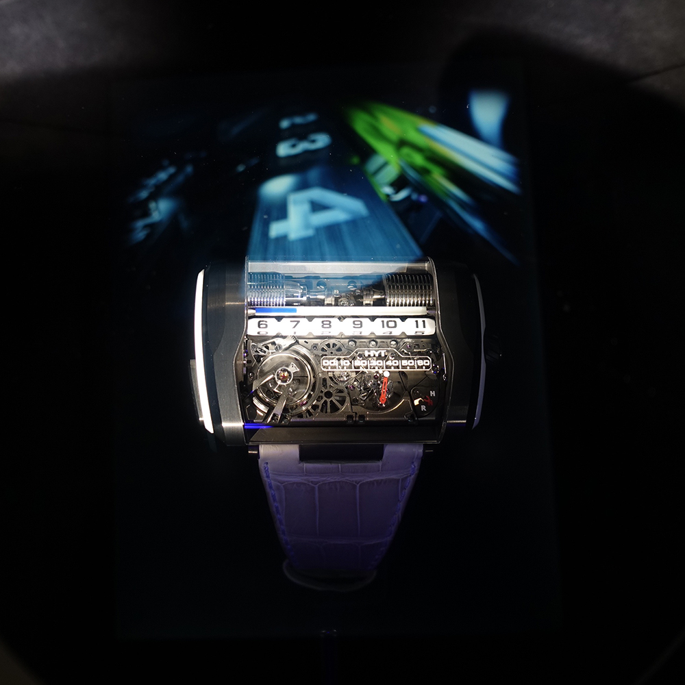 HYT and its holographic tubes at the SIHH 2017.
