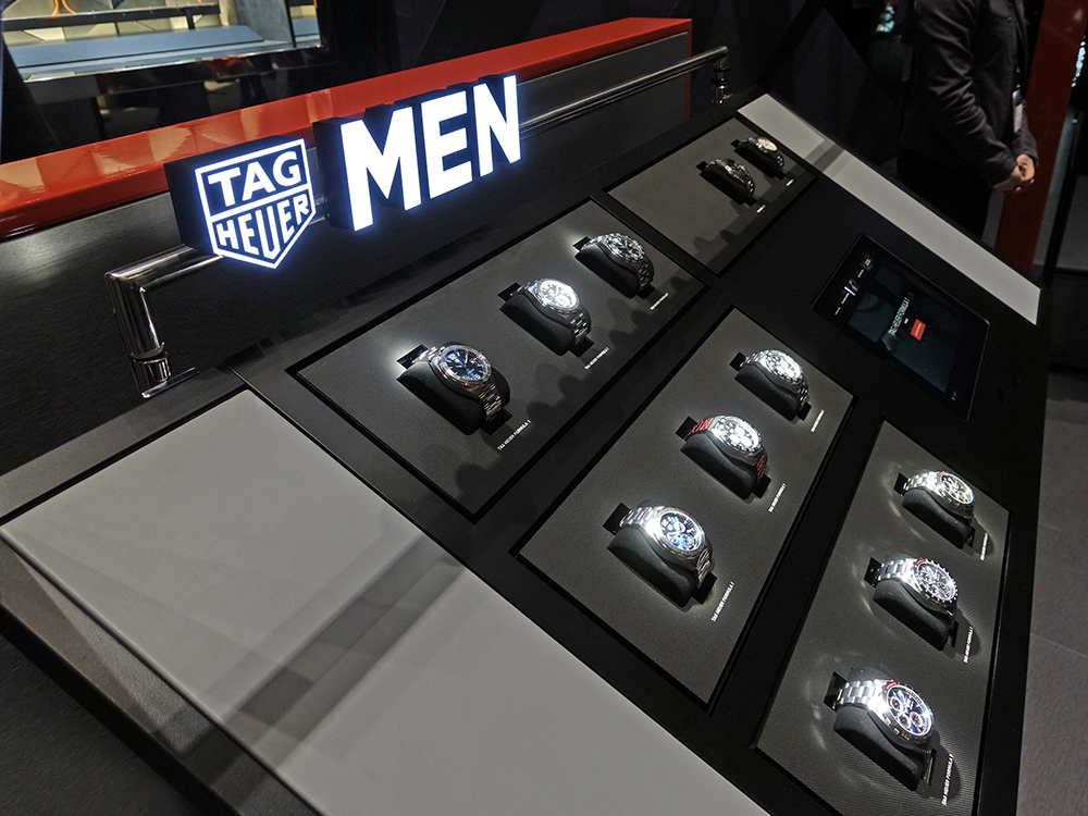 Baselworld 2018: The only thing iTAG connected displays changed, is everything!