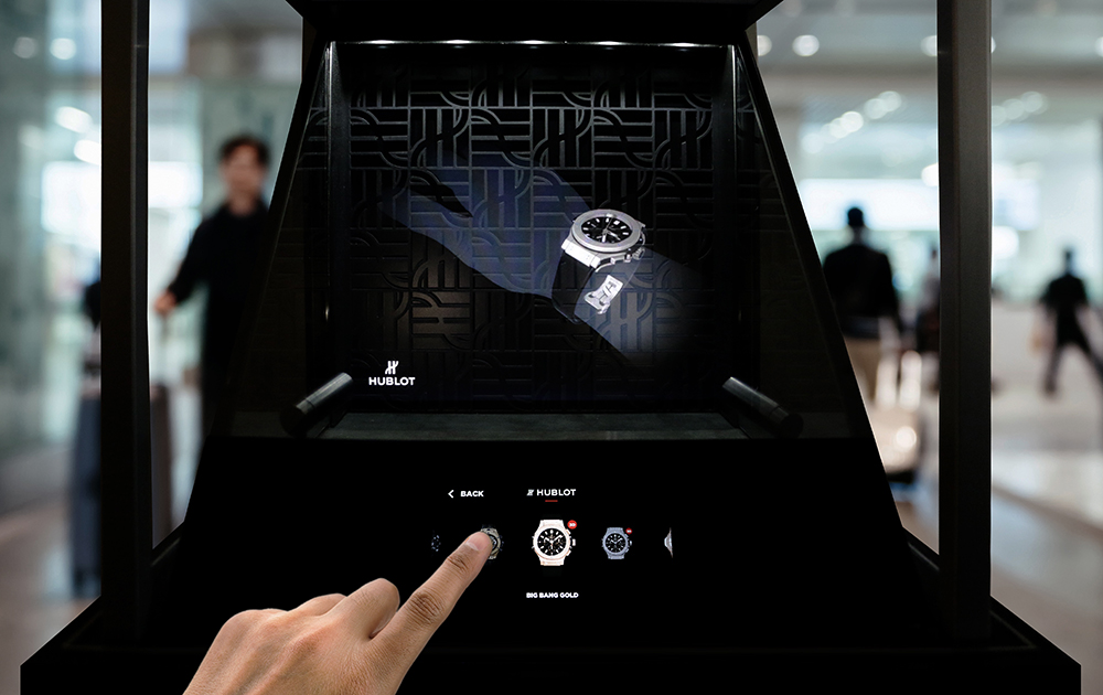 Watchmaking Manufacture Hublot brings connectivity to its display cases with the launch of a new