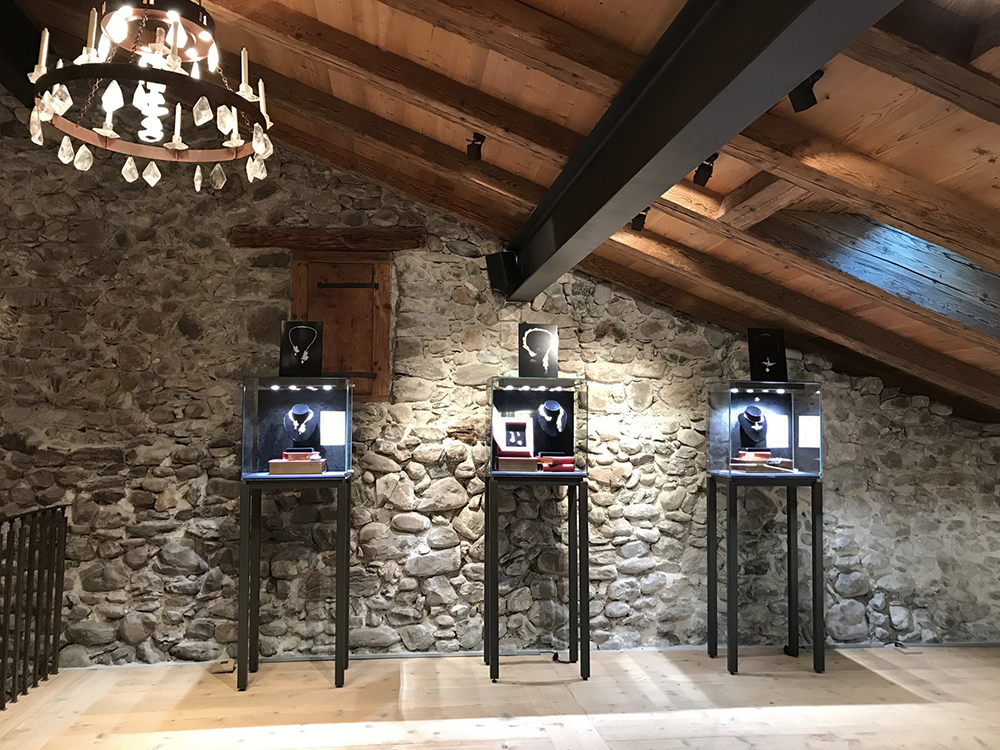 Eliane Fattal exhibition in Gstaad, Switzerland.
