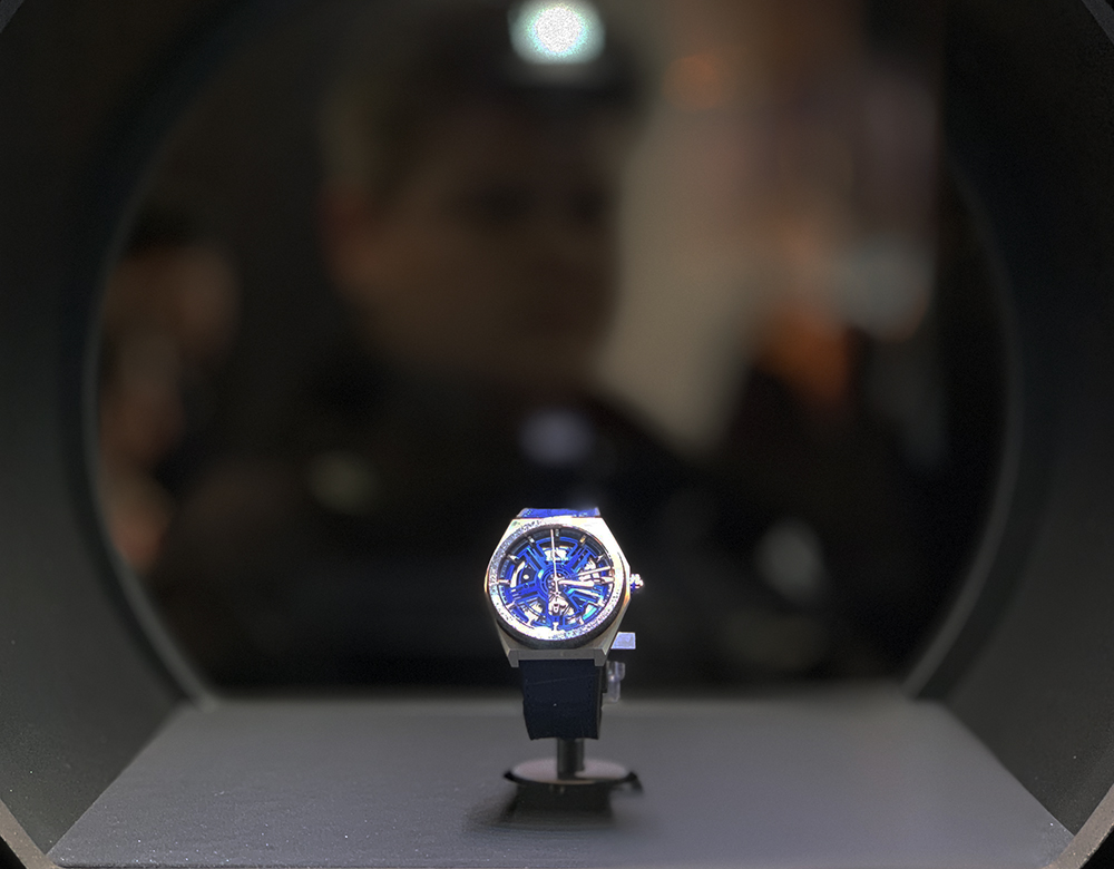 Zenith turns heads with its dual-axis motor at Baselworld 2019.