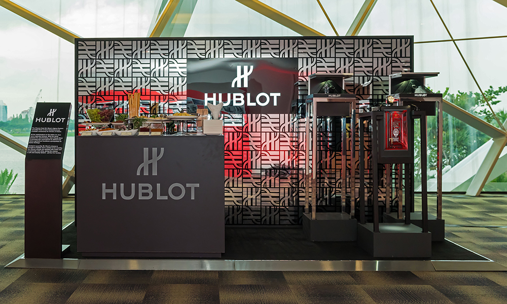 The Hour Glass celebrates Ferrari's 70th Anniversary with Hublot in Singapore.