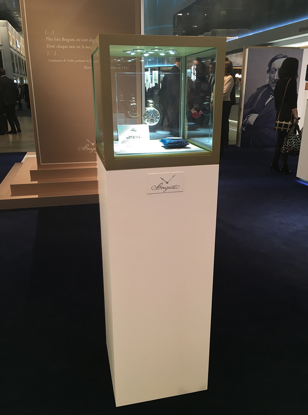 Breguet Marie-Antoinette under high security at Baselworld 2016