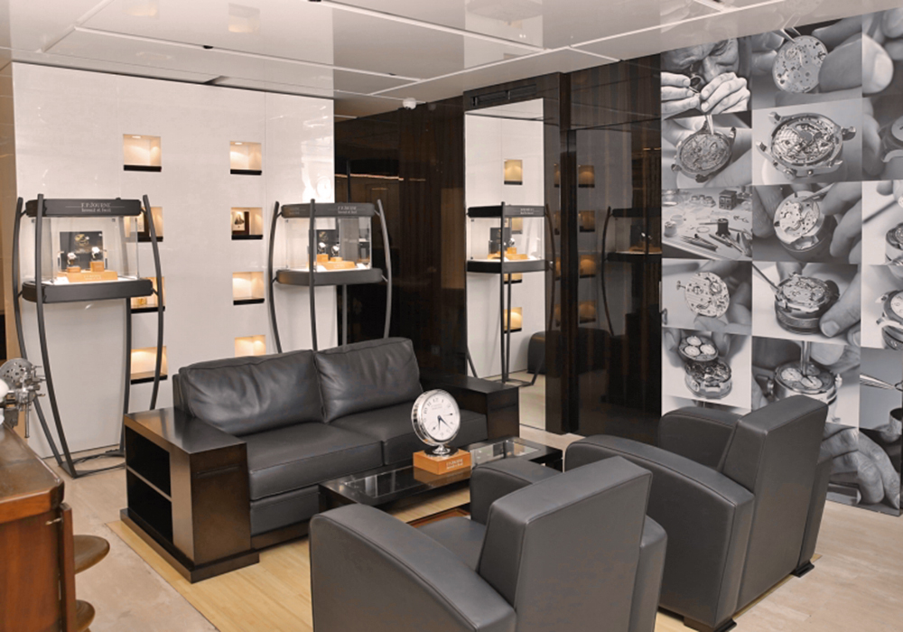 FP Journe opens a new boutique in beirut, Liban.