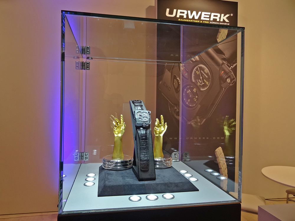 #urwerk #urwerkwatches #salonqp #saatchigallery #london