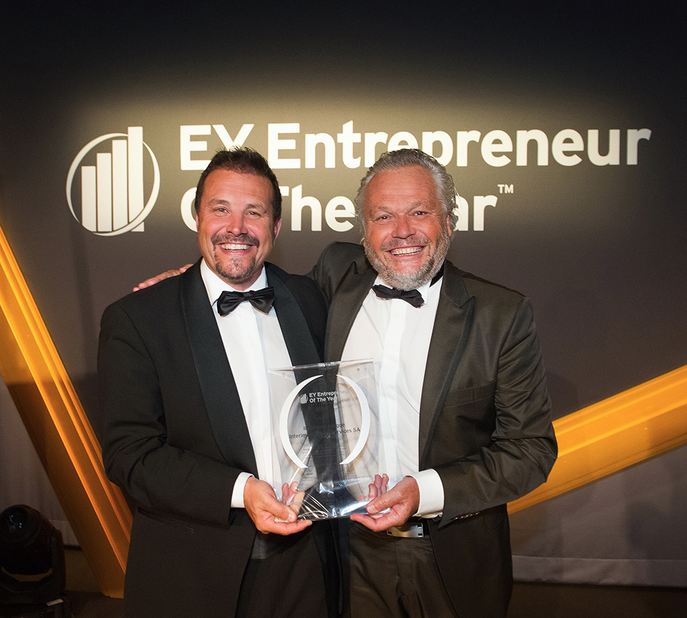 Xavier Dietlin nominated for The EY Entrepreneur Of The Year 2016 award