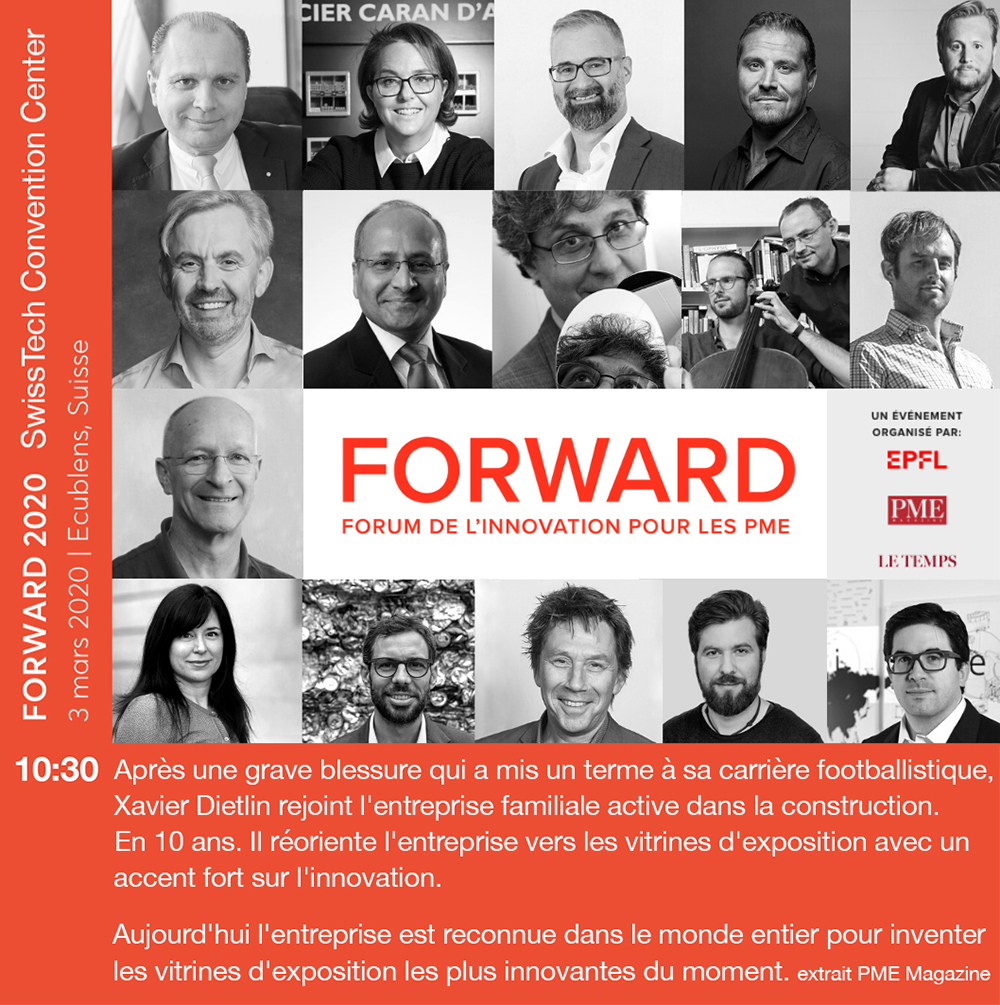 Forward 2020: innovation forum for SMEs.
