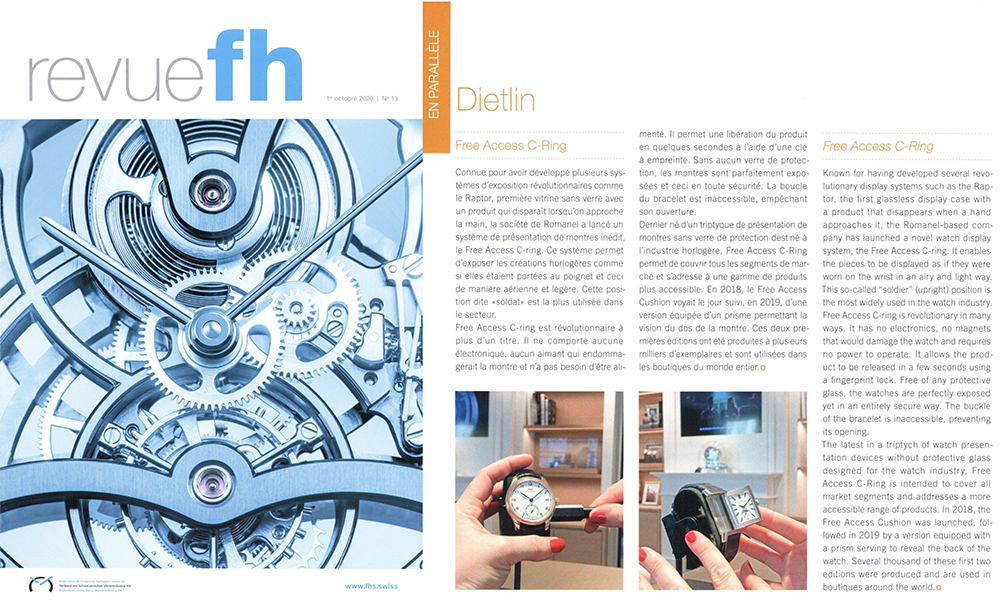 Federation of the Swiss Watch Industry - Free Access C-Ring by Dietlin: THE RÉÉVOLUTION!
