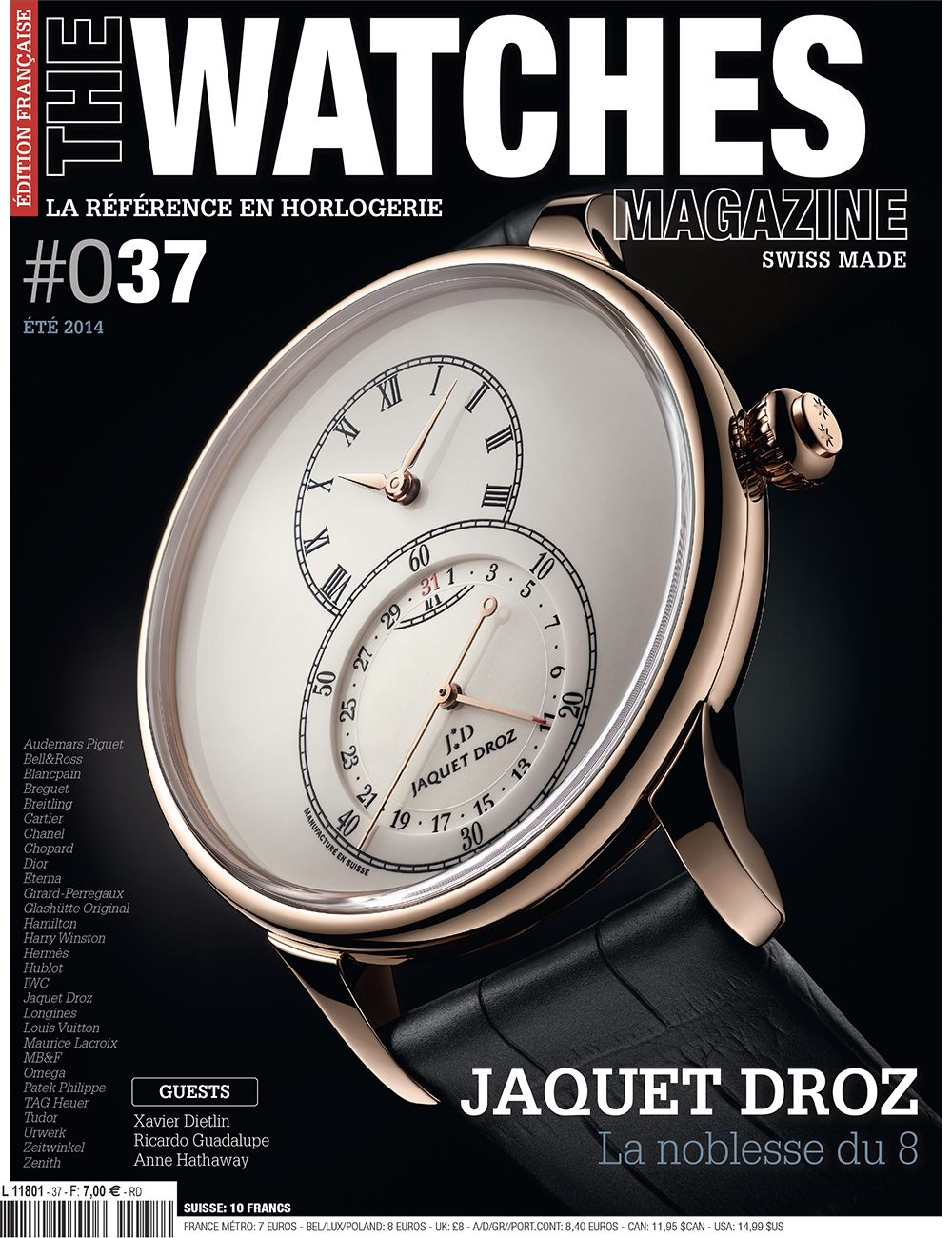 The Watches Magazine: Are watchmakers lagging behind? by Xavier Dietlin