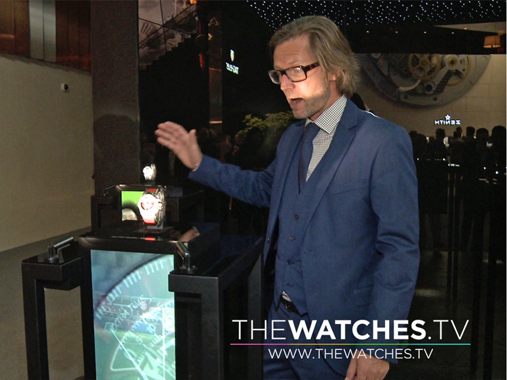 THEWATCHES.TV : BEHIND THE SCENES OF WATCH DISPLAY CASES WITH XAVIER DIETLIN AT BASELWORLD 2016.